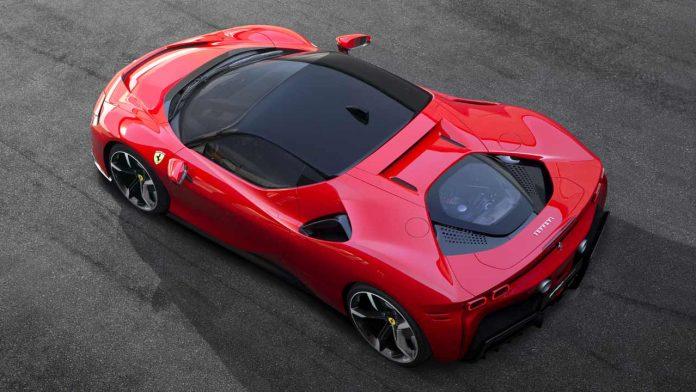 Ferrari αμιγώς ηλεκτρικά μοντέλα