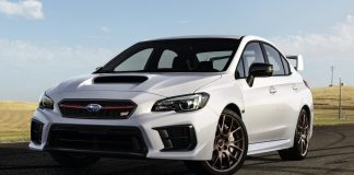 Subaru WRX and WRX Sti Series 2020