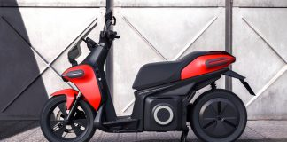 Seat e-scooter 2020