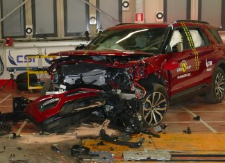 euroncap crash test