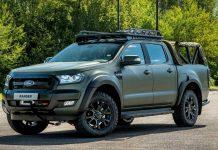Ford Ranger concept Ricardo