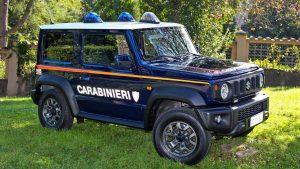 suzuki jimny carabinier 2019