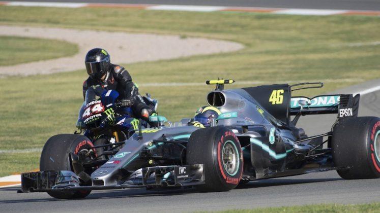 Rossi Hamilton Valencia 2019