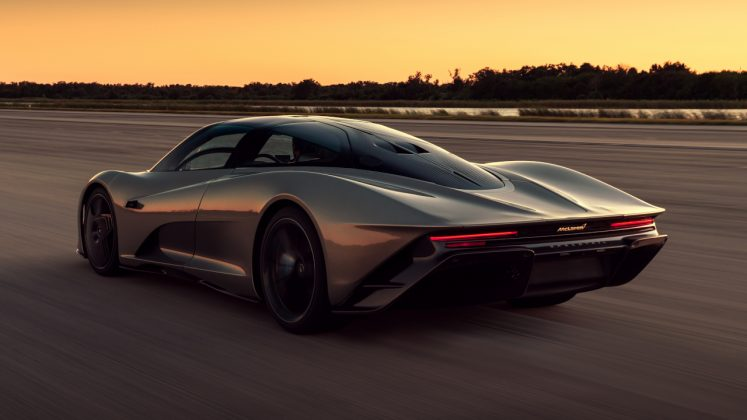 McLaren Speedtail NASA