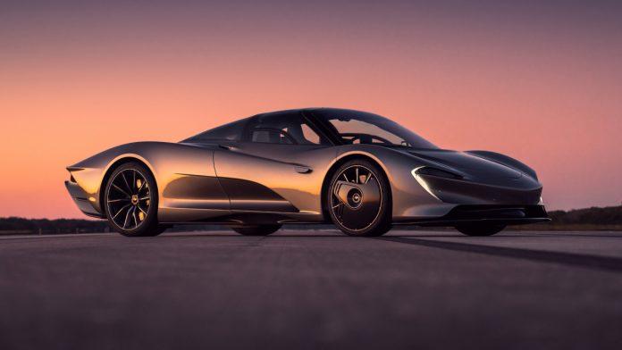 McLaren Speedtail συνθετικά καύσιμα