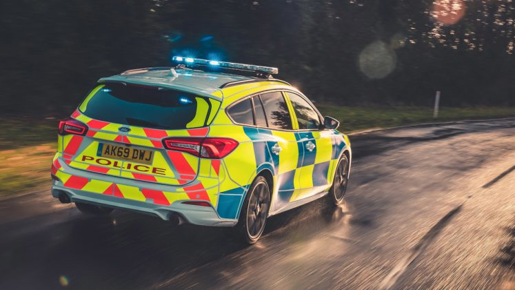 Ford Ranger Raptor, Focus ST UK Police 2019