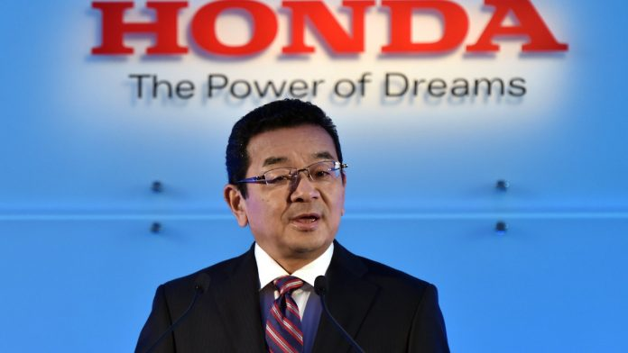 Takahiro Hachigo Honda