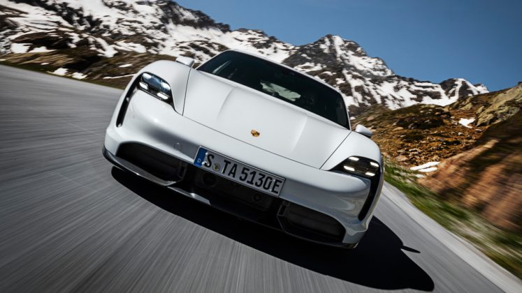 Porsche Taycan Top 5 Series