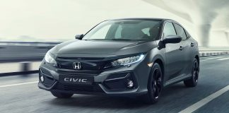 honda civic facelift