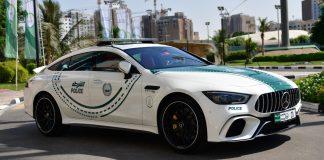 Mercedes AMG GT 63 S Dubai Police