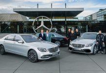 Mercedes S-Class milestone 2019