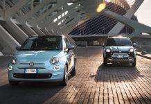Fiat 500 Fiat Panda υβριδικές εκδόσεις
