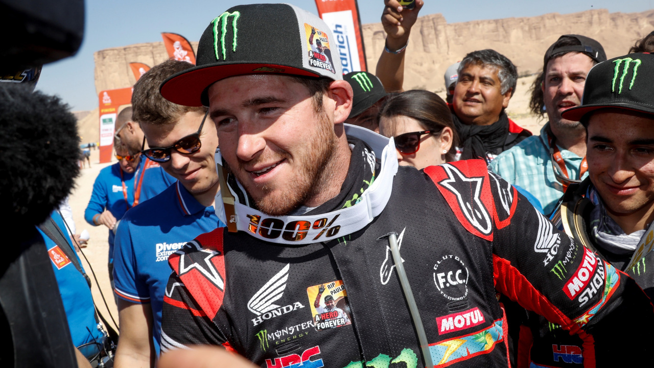 Ricky Brabec Honda 2020 Dakar Rally HRC winner