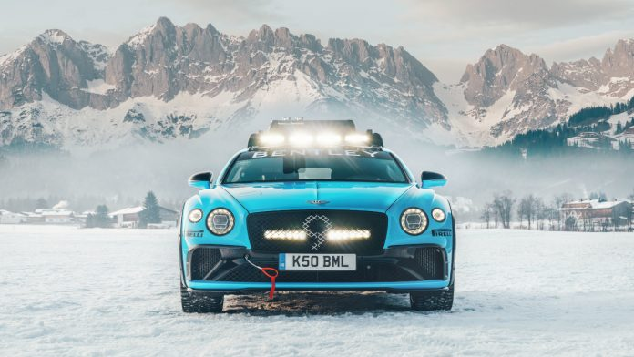 Bentley Continental GT GP Ice Race 2020