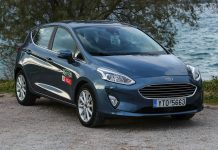 Ford Fiesta titanium 100 PS traction test