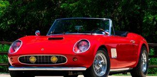 Ferrari Ferris Bueller δημοπρασία