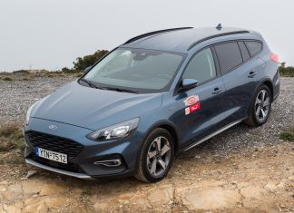 Ford Focus Wagon Active 1.5L 150 PS Traction test