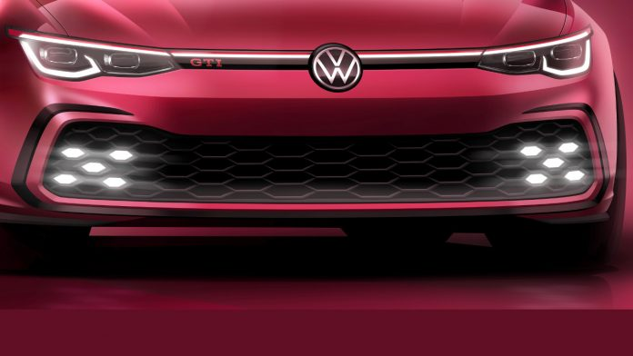 2020 νέο VW Golf GTI