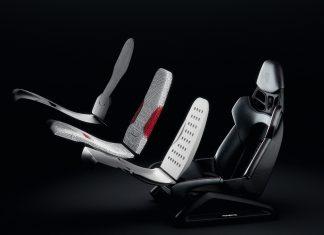 2020 Porsche 3D bucket καθίσματα