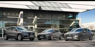 Mercedes EQ power GLA, CLA Shhoting Brake, CLA Coupe