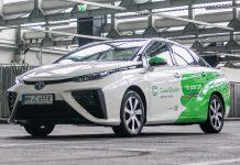 Toyota Mirai CleverShuttle 2020