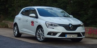 Renault Megane 1.3 TCe δοκιμή Traction 2020