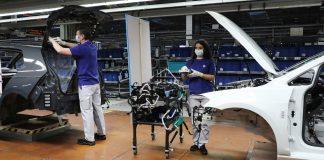 VW εργοστάσια Κορωνοϊός 2020