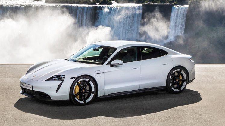 Porsche Taycan βραβείο 2020