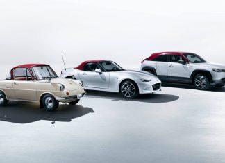Mazda επετειακές εκδόσεις 100 χρόνια