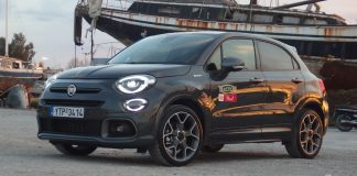 Fiat 500X Sport test Traction