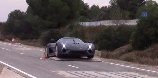supercar tests koenigsegg