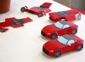 Mazda από χαρτί