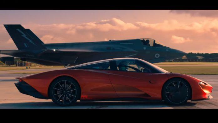McLaren Speedtail vs F-35 video