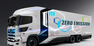 Toyota hino 2020 κυψέλες υδρογόνου