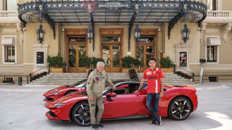 Ferrari SF90, Charles Leclerc, Le Grand Rendez-vous