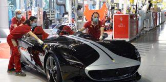Ferrari Εργοστάσια Κορωνοϊός