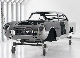 Aston Martin DB5 παραγωγή James Bond