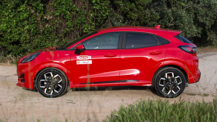 2020 Ford Puma ST-Line 155 PS test Traction