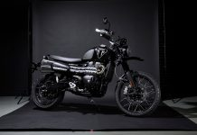 2020 Triumph Scrambler 1200 Bond Edition έκδοση