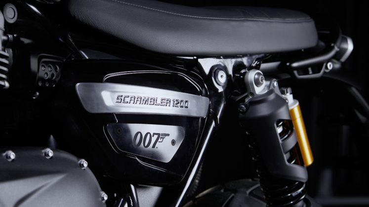 2020 Triumph Scrambler 1200 Bond Edition έκδοση