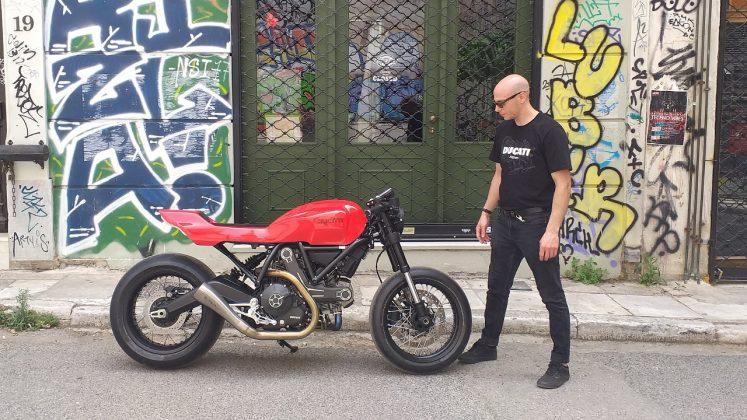 Ducati Custom Rumble διαγωνισμός 2020