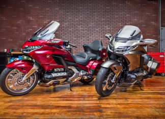 Honda Gold Wing 2020 Android Auto