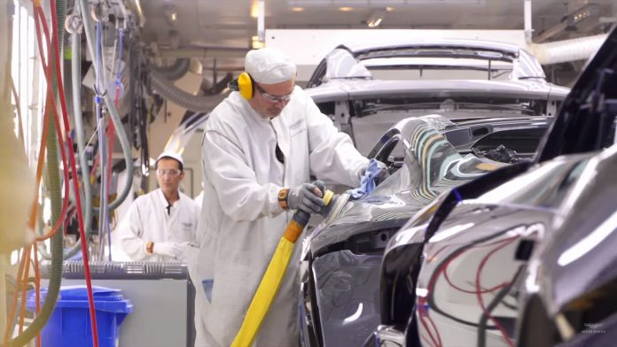 Aston Martin εργοστάσιο κατασκευή