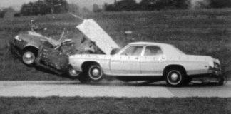 crash tests IIHS 1970s USA Η.Π.Α.