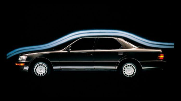 Lexus LS 400 εταιρία γέννηση
