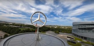 Mercedes Μουσείο Drone