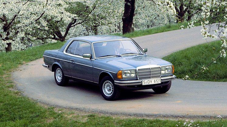 Mercedes Coupe και Cabrio 1976