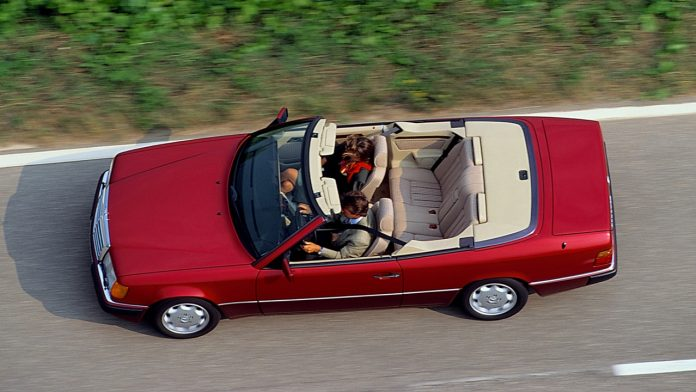 Mercedes Coupe και Cabrio 1991