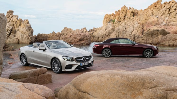 Mercedes Coupe και Cabrio 2017