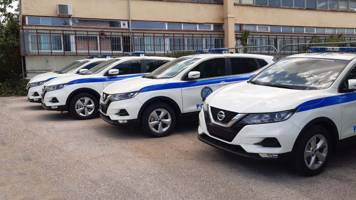 Qashqai Nissan Ελληνική Αστυνομία